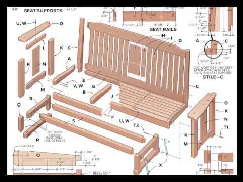 Bänke zu machen: 10.000 verschiedene Konstruktionszeichnungen jetzt ...
