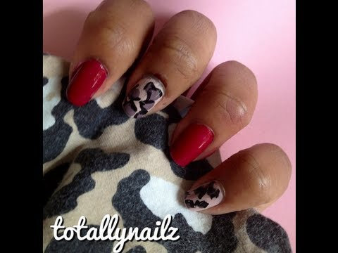 Easy Leopard and Cheetah Print Nail Art Tutorial for Beginners