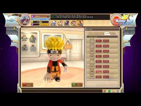 [Avatar Star VN] Giới Thiệu - Hệ Thống Avatar Card [Tạo Hình Naruto]