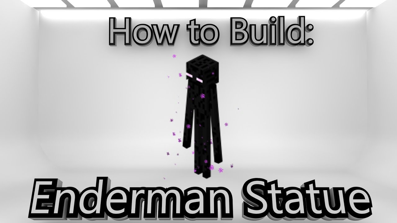 maxresdefault jpgHow To Make An Enderman Statue