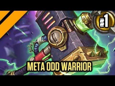 Hearthstone: Boomsday Laddering - Meta Odd Warrior P1