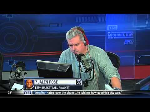 Jalen Rose talks Knicks and Nets on The Michael Kay Show