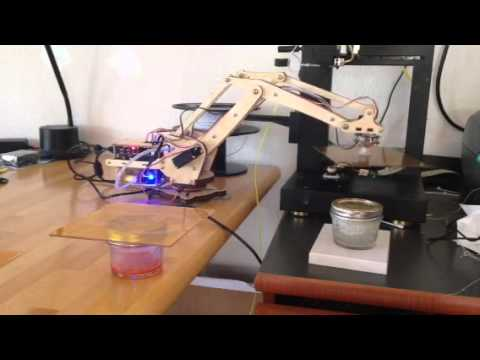 Steps Towards Home Manufacturing With Robotics And Printing