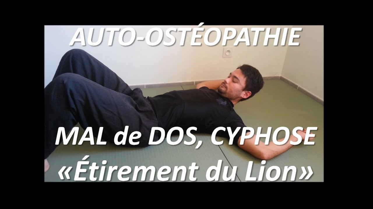 auto ost opathie mal de dos cyphose tirement du lion 1 youtube. Black Bedroom Furniture Sets. Home Design Ideas