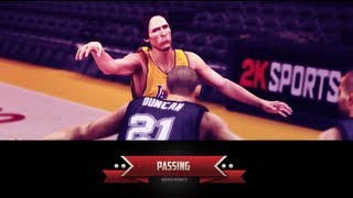 NBA 2K14 Ultimate Passing Tutorial: Flashy Pass, Fake