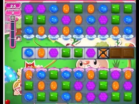 Candy Crush Saga Level 77 - YouTube