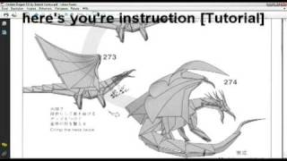 Ancient Dragon Origami Instructions