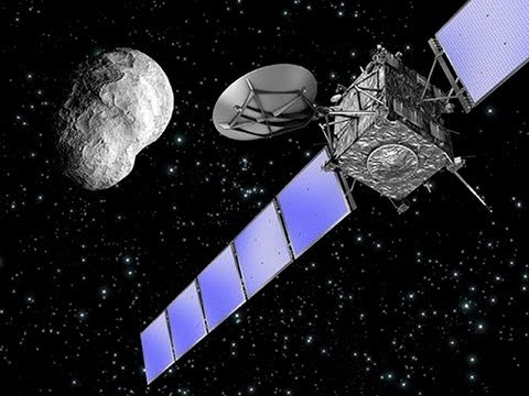 Europe's Rosetta comet spacecraft wakes up and phones home January 14 2014