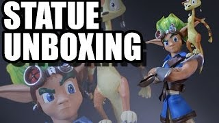 Jak and Daxter Statue Unboxing