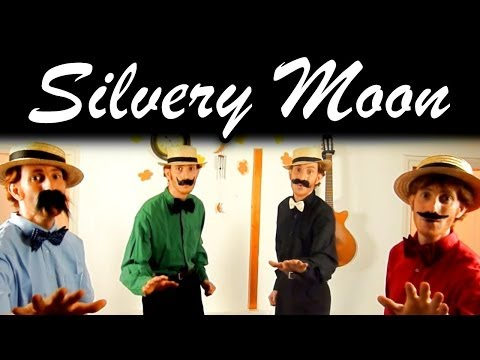 By The Light Of The Silvery Moon - a cappella one man barbershop multitrack - Julien Neel [HD]
