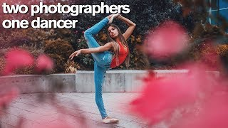 Two Photographers One Dancer Challenge with Brandon Woelfel