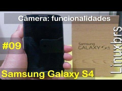 Samsung Galaxy S4 i9505 - Câmera - funcionalidades e configurações - PT-BR - Brasil
