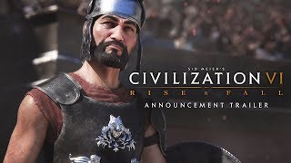Sid Meier's Civilization VI - Rise and Fall Announcement Trailer