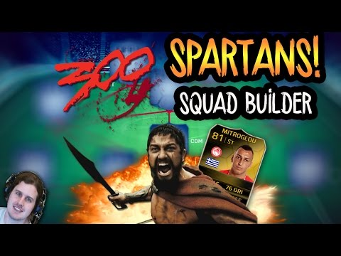 300 SPARTANS SQUAD BUILDER! FIFA 14 ULTIMATE TEAM