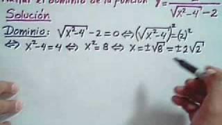 Funciones Calculo De Dominio Y Rango De Funciones 2
