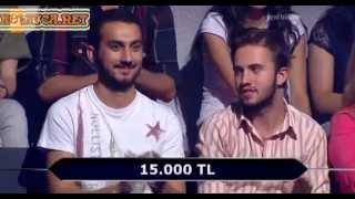 Kim Milyoner Olmak Ister 255. bölüm Tayfun Ayanoğlu 30.07.2013