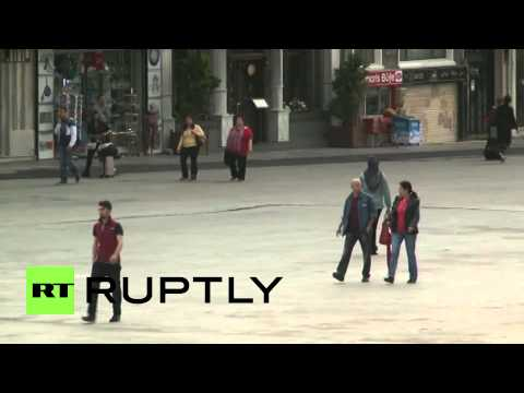 Turkey: After Saturday's clashes calm returns to Istanbul