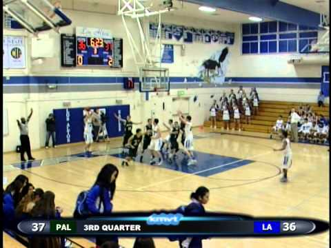 Los Altos Eagels vs Palo Alto Vikings - Basketball January 15th, 2014