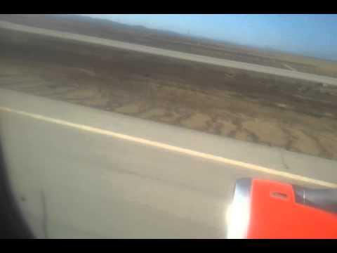 2013 07 31 рейс Тунис (Энфидха)-СПб. Посадка в Пулково-2.Из ночи в рассвет. - Тунис 2013