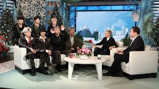 Ellen Makes 'Friends' with BTS!