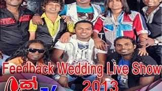 Feed Back Wedding Live Show 2013
