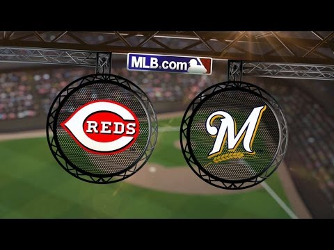 7/22/14: Lucroy's walk-off homer lifts Crew over Reds