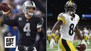 Will Antonio Brown end up on the Raiders?   Get Up!