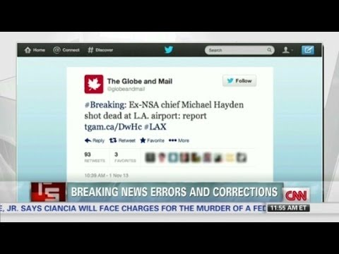 Breaking news errors and corrections
