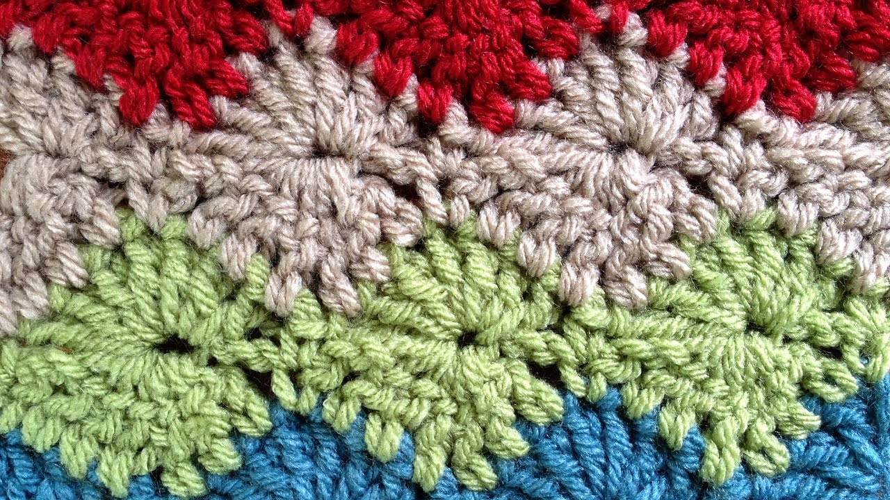 Youtube Crochet Stitches Crochet Shell 2 Design Pictures to pin on ...