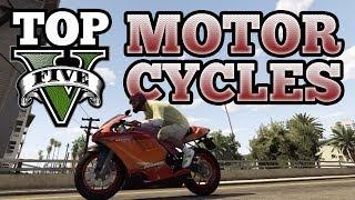 GTA V Top 5 Motorcycles (Sanchez, Bati 801, Akuma, Double