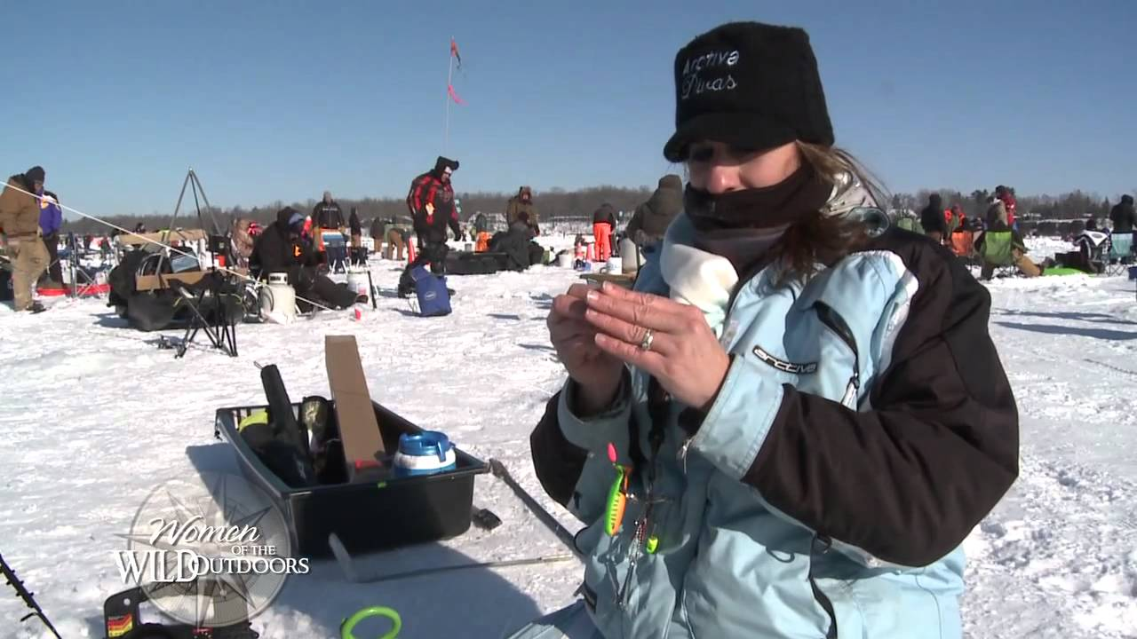 Wowo segment ice fishing divas women of the wild outdoors for Mn ice fishing show