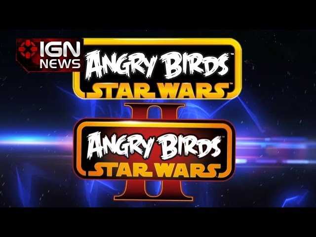 IGN News - Angry Birds Star Wars Headed to Consoles & Angry Birds SW II Details