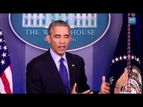 Video : Statement von US Präsident Obama zur Lage im Irak auf Englisch