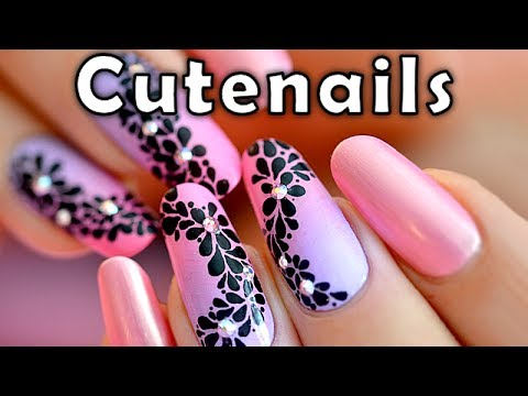 Fast & easy Nail art tutorial