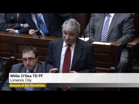 Willie O'Dea questions Eamon Gilmore on Water Charges