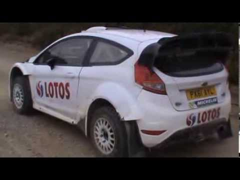 Test M-SPORT Pre-Mexico 2014 E.Evans | M.Hirvonnen | R.Kubica [Maximum attack] ( By D.G.T)