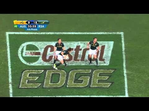 Australia vs South Africa Rd.3 2013 | Rugby Championship Highlights