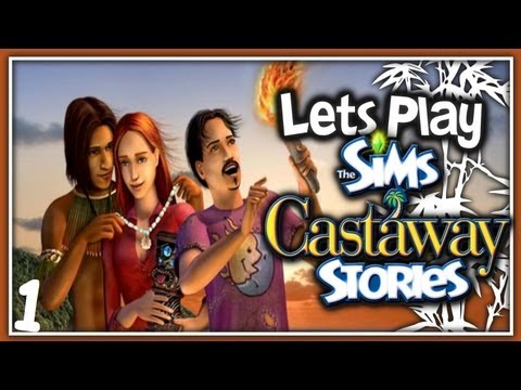 Let's Play: The Sims Castaway Stories - (Part 1) - Monkeys!