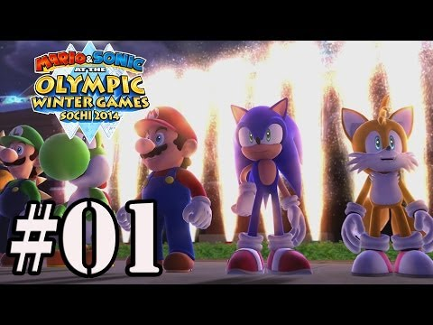 Let's Play : Mario & Sonic Olympic Winter Games 2014 - Parte 1