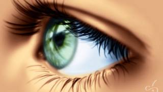 Digital Painting Tutorial 03 : How To Draw An EYE (part II