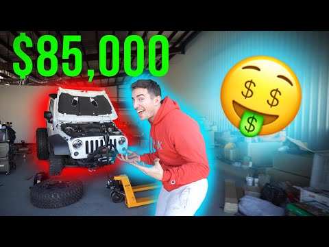 DESTROYING my $85,000 Jeep!!!