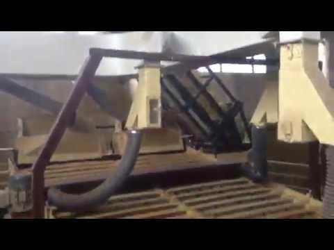 Очистка нута на калибраторах  Фадеева