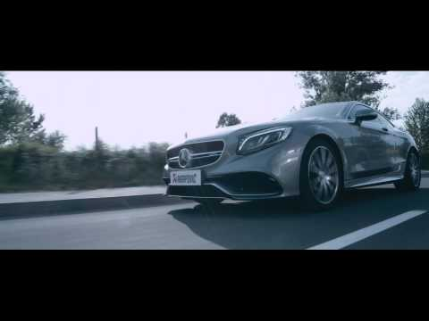 Akrapovic Exhaust Mercedes S63 amg Evolution Line (Titanium)