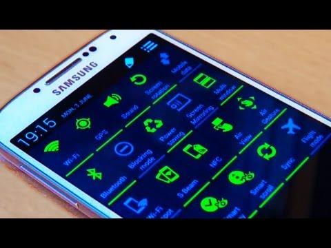Samsung Galaxy S4 Notification Icons