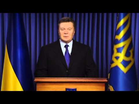 President Yanukovych blames 'radical elements for Ukraine clashes - BBC News