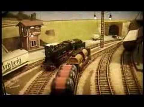 Maqueta trenes HO