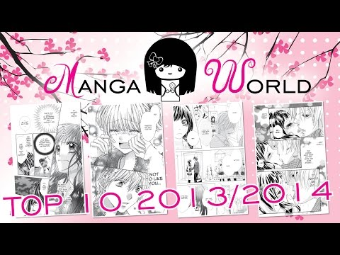 Manga World - Top 10 Manga Januar 2013 bis Juli 2014