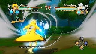 Naruto Ultimate Ninja Storm 3 Full Burst KCM Minato Mod