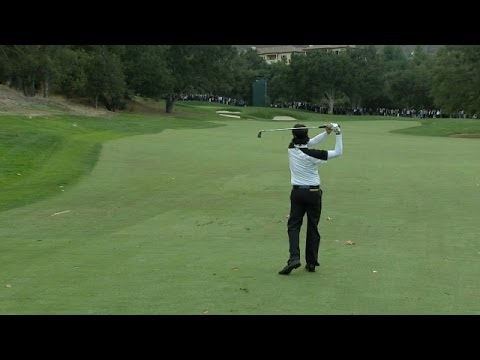 Bubba Watson hits incredible approach shot at World Challenge