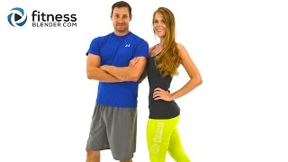 Day 1: Fitness Blender's 5 Day Workout Challenge To Burn
